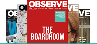 Observe magazine covers